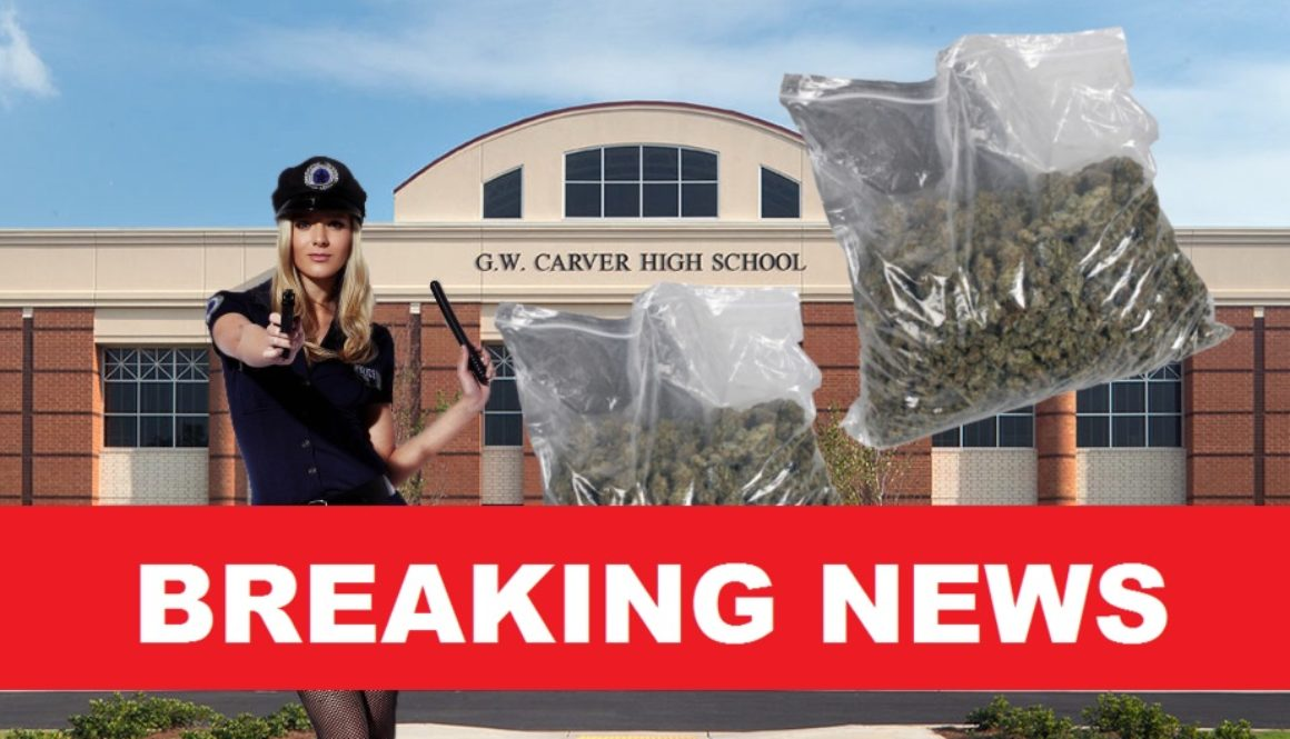 two pounds of marijuana at carver high school in atlanta